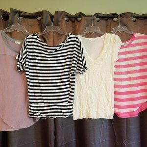 Women's Size Large Blouses And Shirts